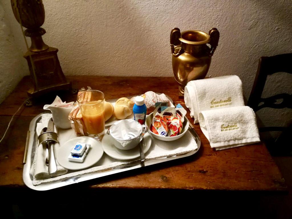 Desayuno en el bb cantarelli reggio emilia